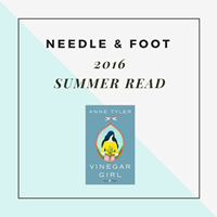 Needle and Foot Summer Read 2016