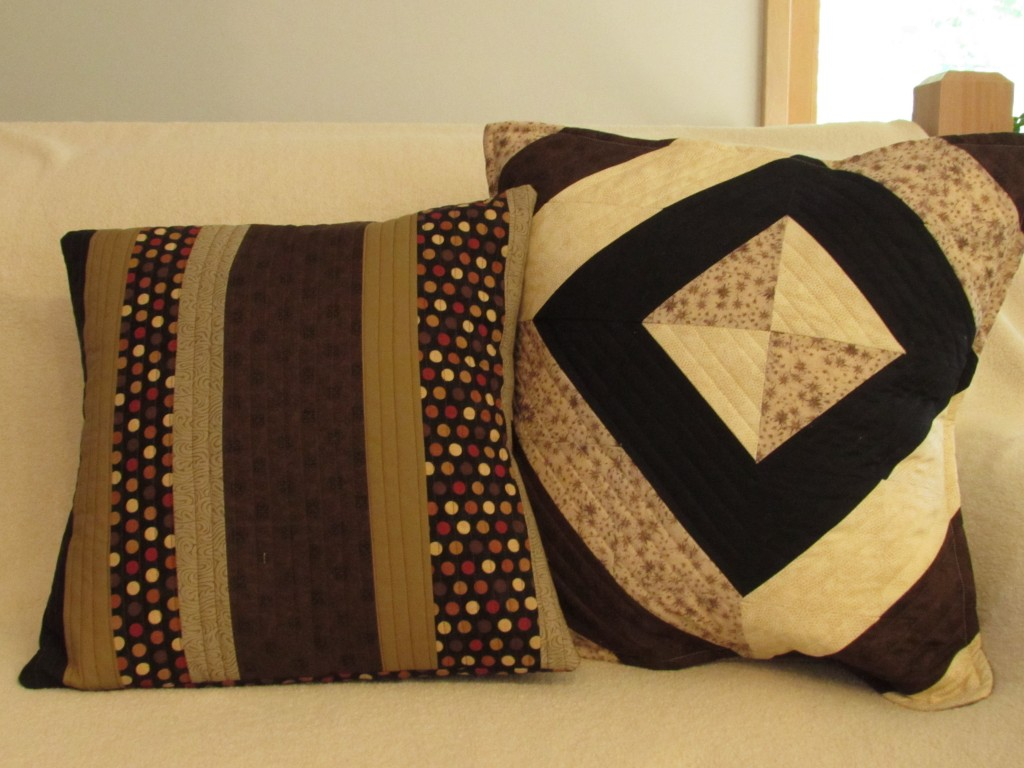 Pillows for Ian; September 2014