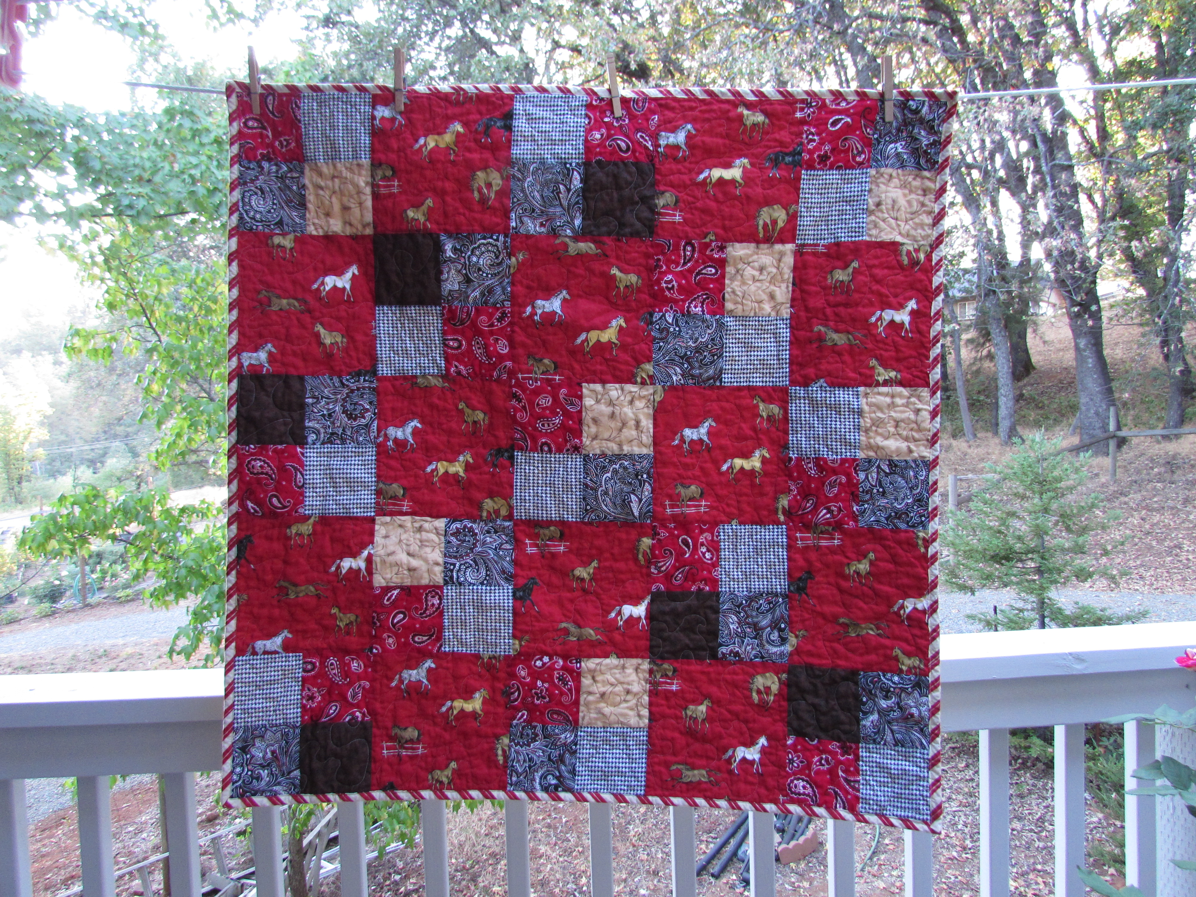 Cowboy Small | Needle and Foot : cowboy baby quilt - Adamdwight.com