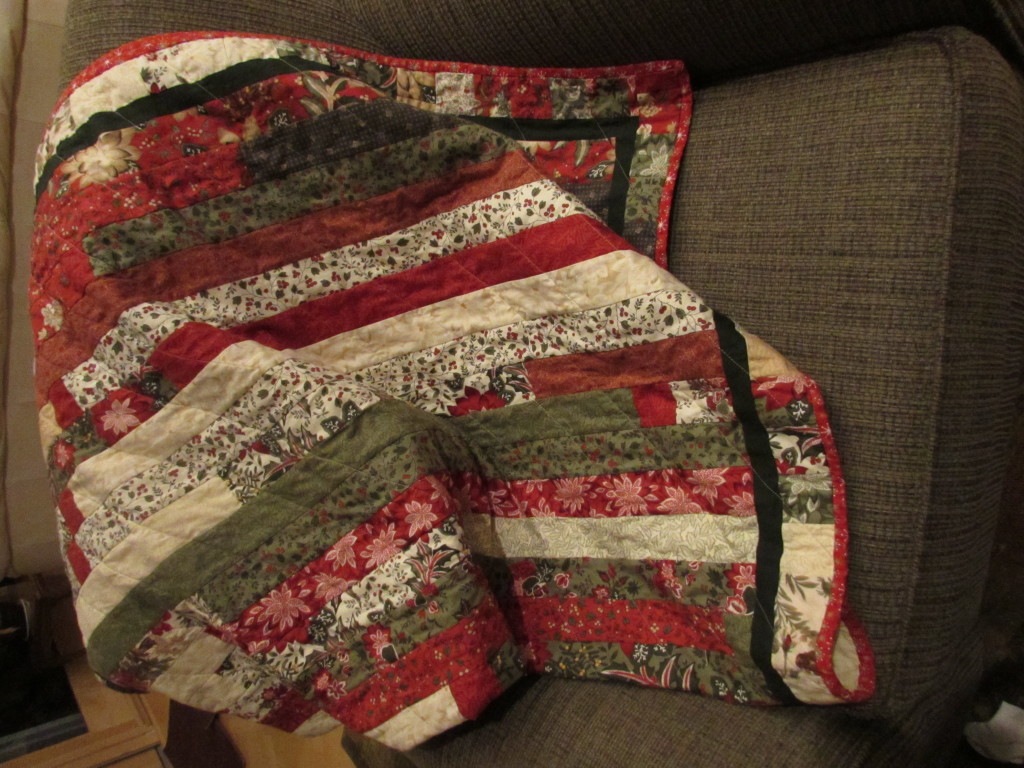 Holiday Jelly Roll Quilt