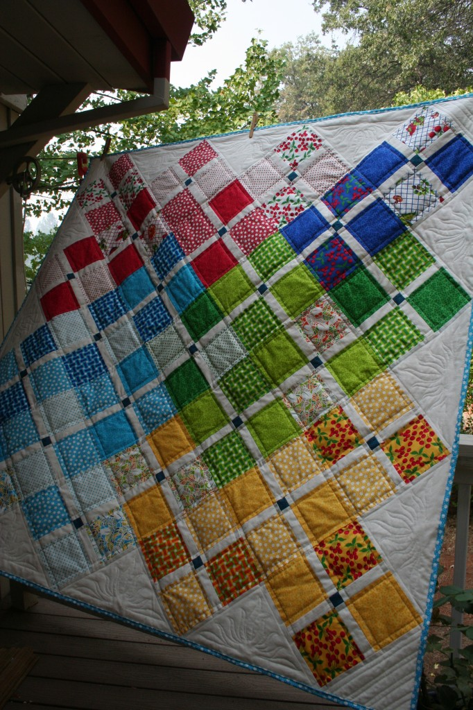 Oh So Charming Donation Quilt September, 2013