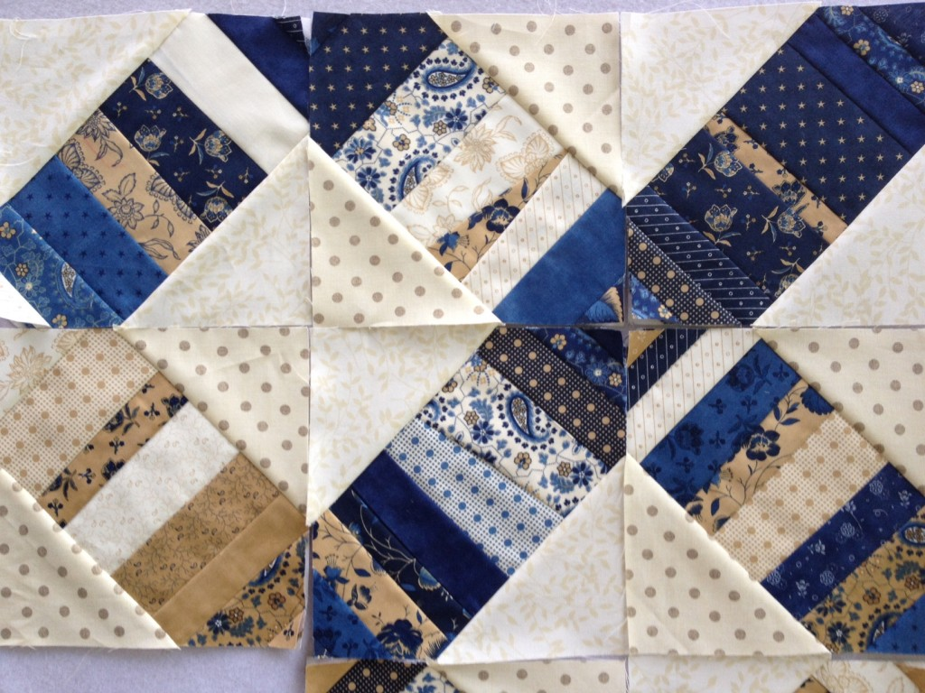 blue tan quilt blocks 2
