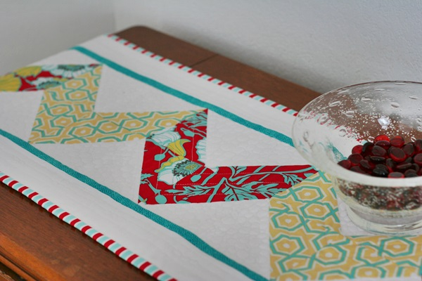 Chevron Table Runner; April 2015