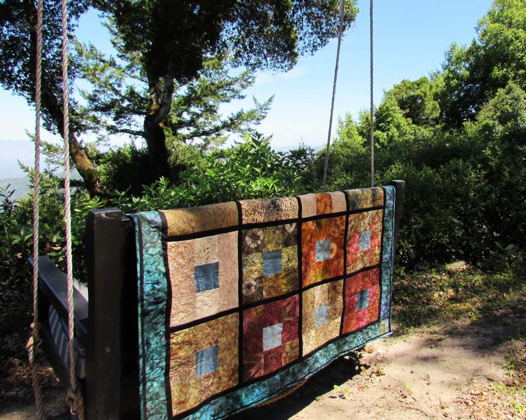 Batik Honeymoon Quilt; June 2015