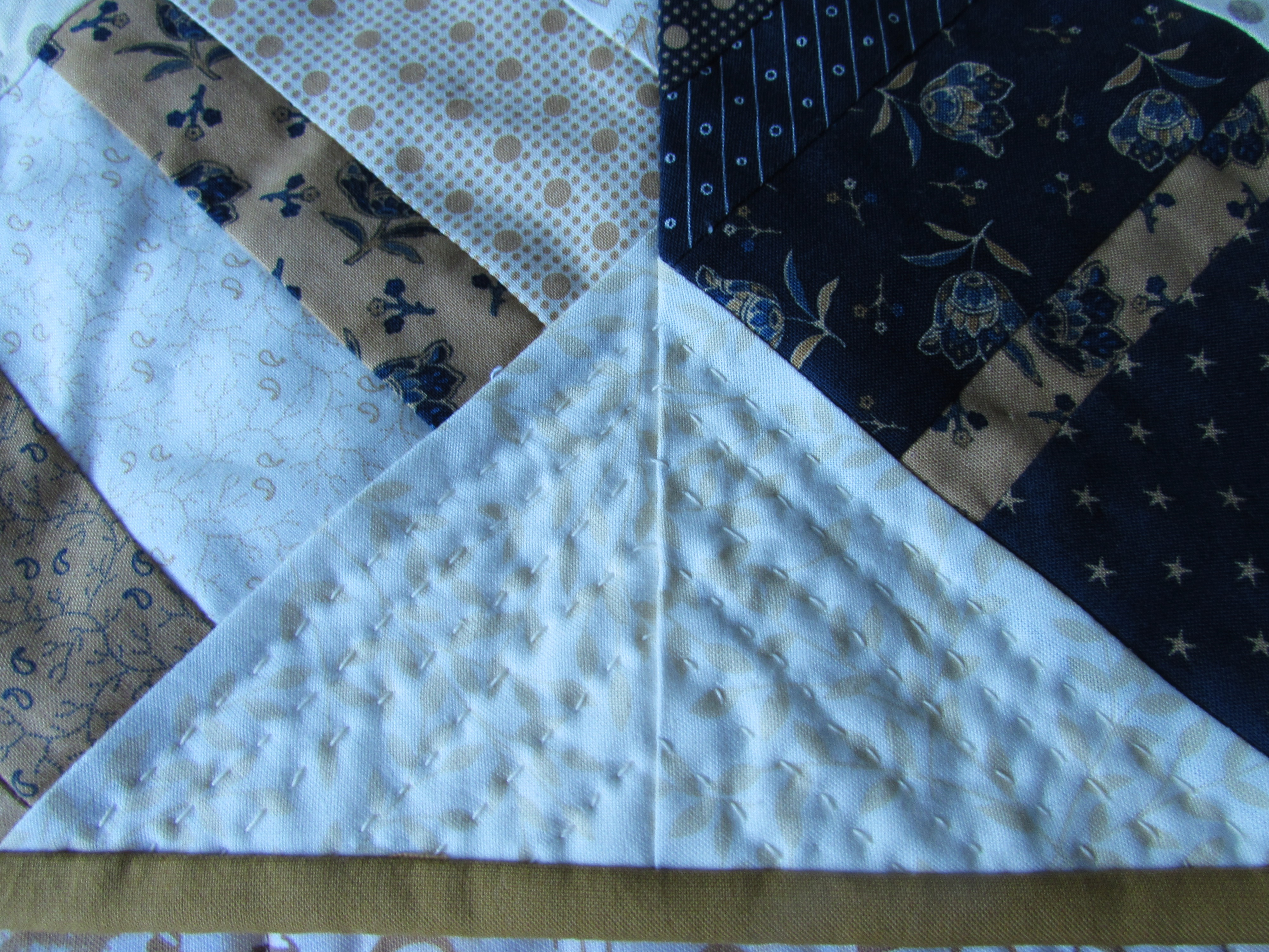 string quilt | Needle and Foot