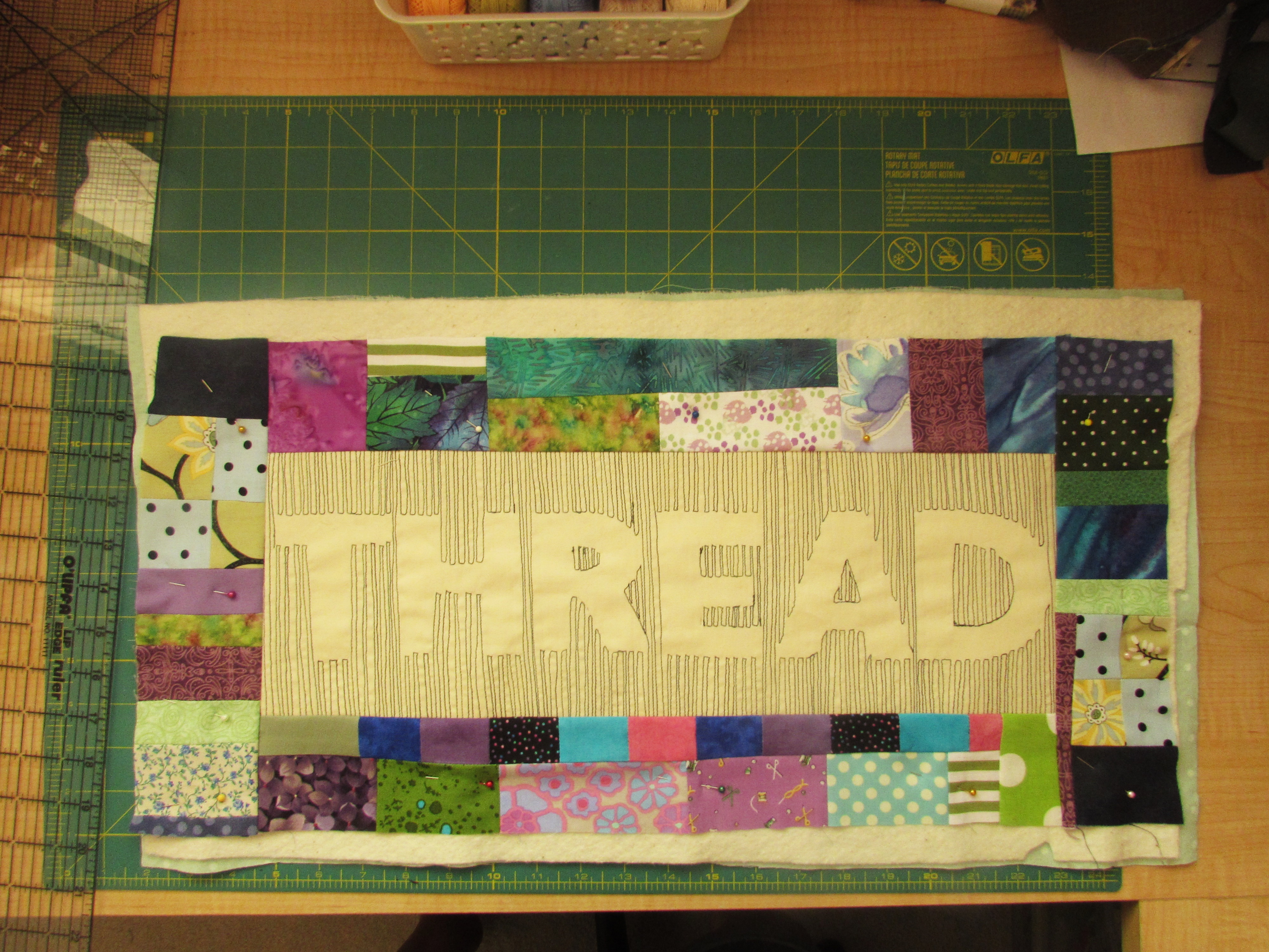 Relief Quilting Tutorial – Thread   Needle and Foot