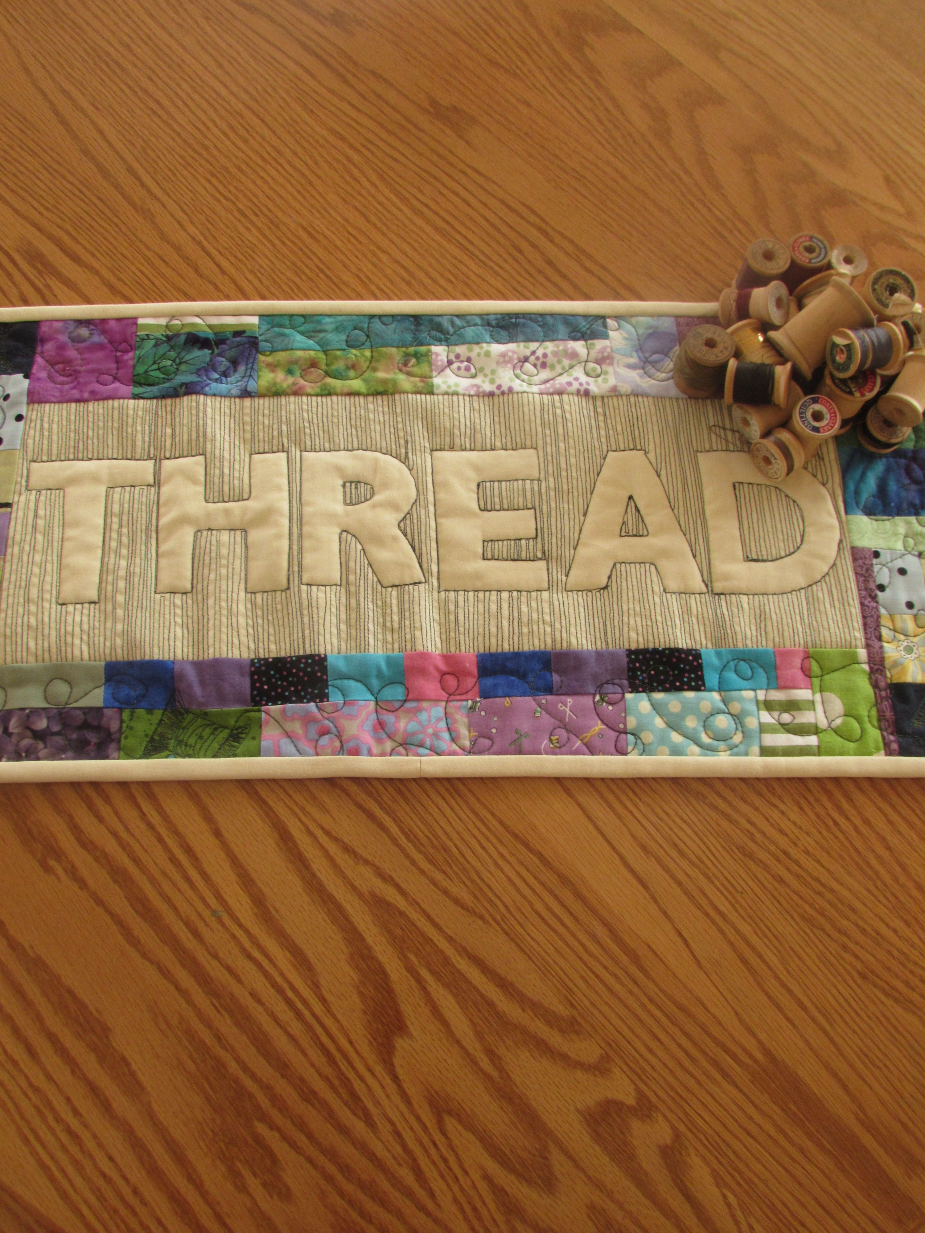 Relief Quilting Tutorial – Thread