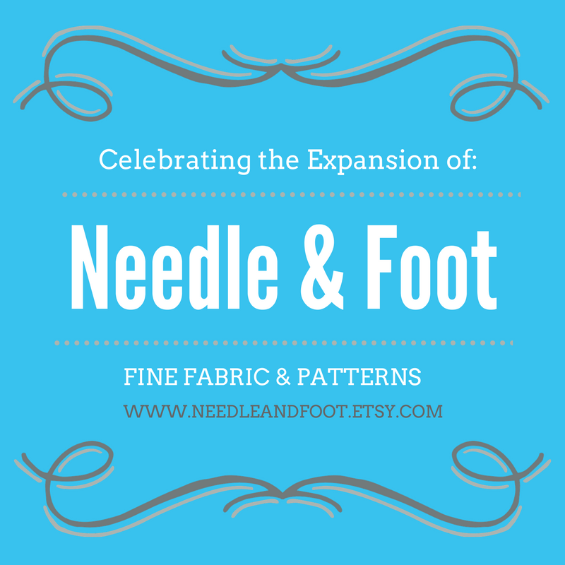 New Adventures at Needle & Foot