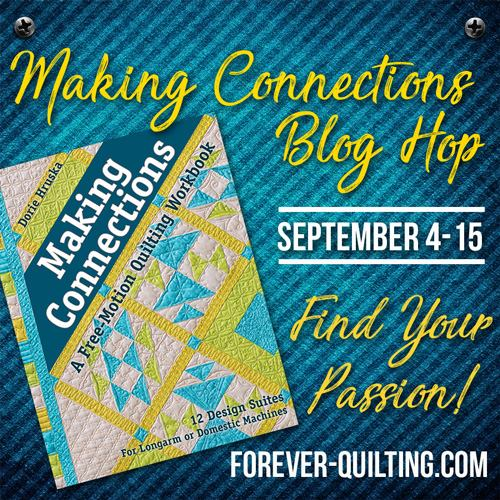 Making Connections; Quilting Book Review & Bloghop