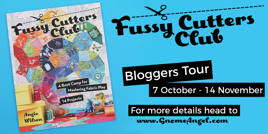 Fussy Cutters Club, Book Review and Giveaway!