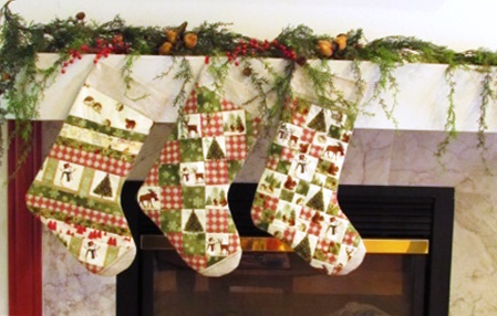 Winter Friends Christmas Stockings