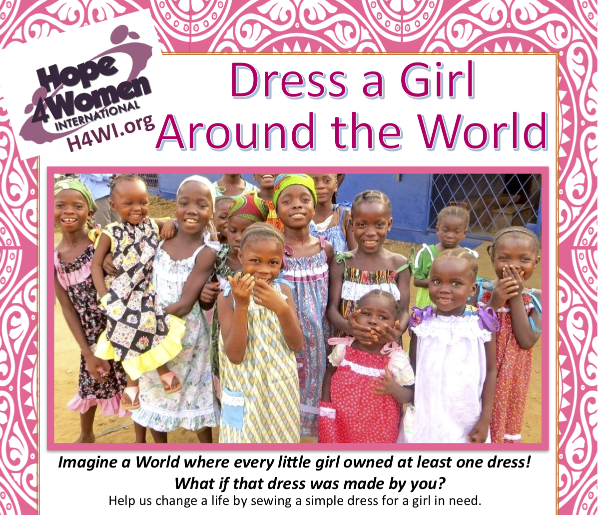Dress A Girl Around the World – Finish